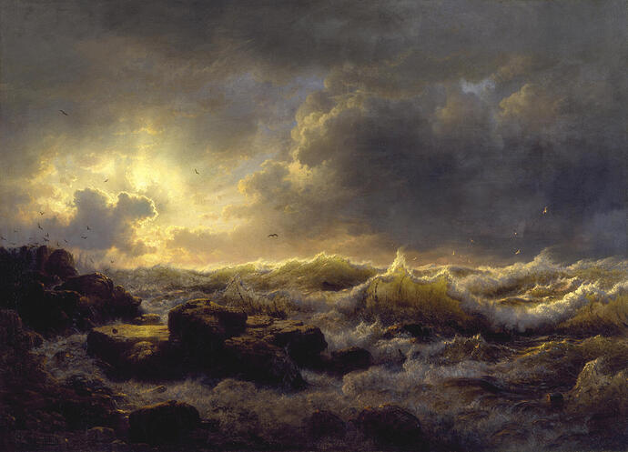 Andreas_Achenbach_-Clearing_Up—Coast_of_Sicily-_Walters_37116